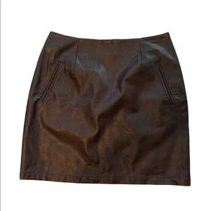 3/$25 Forever 21 | faux leather mini skirt